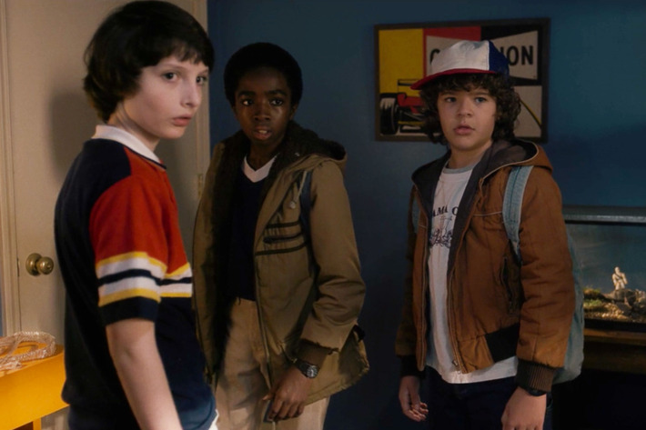 mike, lucas, dustin