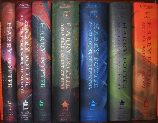 HP Book Spines